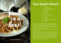 Vegane Spaghetti Bolognese von Johanna & Karin