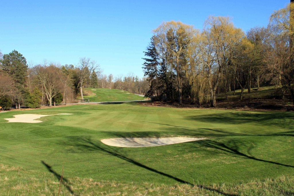 The Yonge Street side of Thornhill Ladies Golf Club