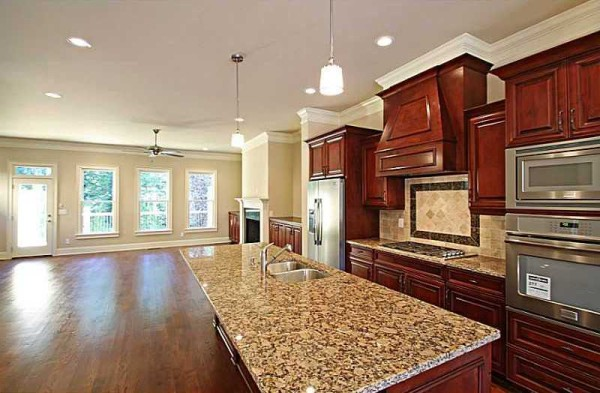 Gourmet Kitchen In Townhome