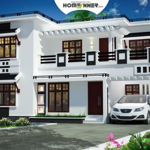 Kathua 19 Lakh contemporary house floor plans with pictures