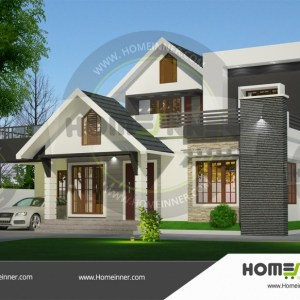 Haveri 22 Lakh low budget modern house design