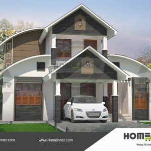 Agarwal Mandi 17 Lakh 3 BHK 1561 sq ft Villa house plans