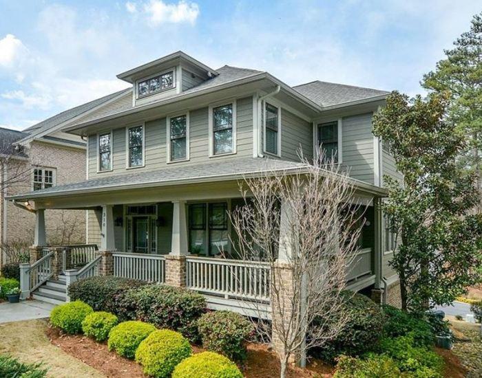 Lum Howell Craftsman Style Home Norcross GA