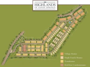 Providence Group Townhomes In Highlands Of Sandy Springs