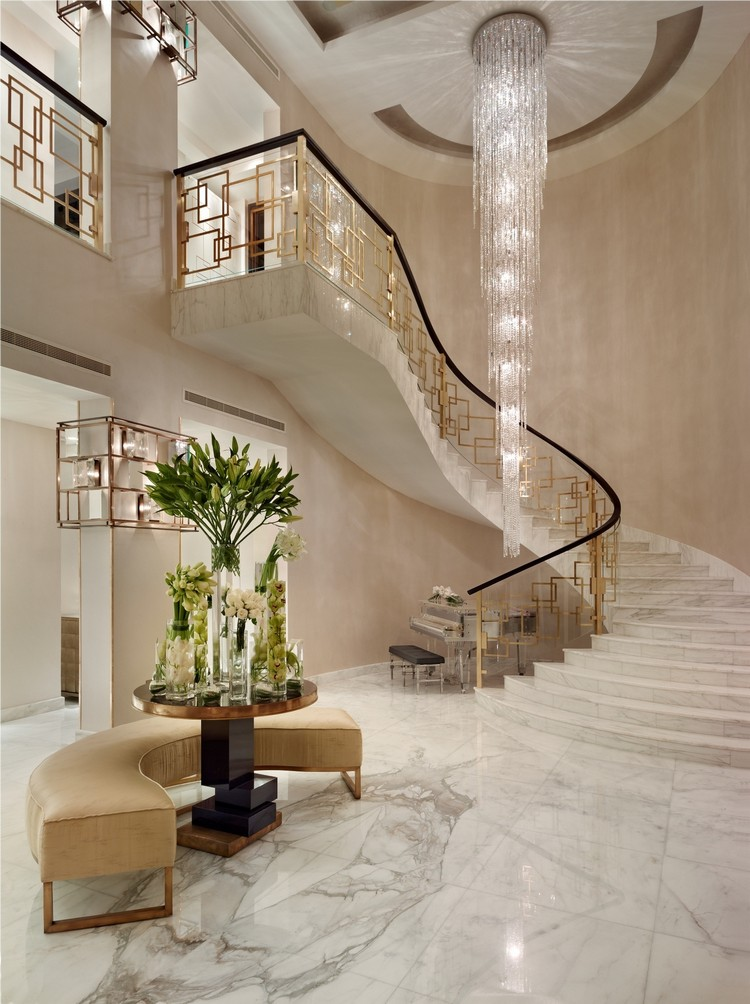 Luxury Home Interior Staircase