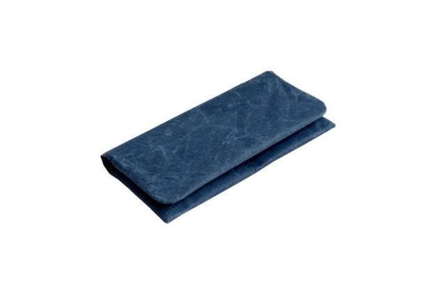Siwa Naoron Long Wallet Blue