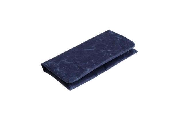 Siwa Naoron Long Wallet Dark Blue