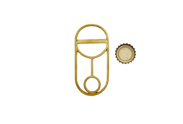 Fort Standard Brass Bottle Opener: Crest 2