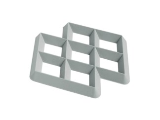 Hay Rhom Trivet Light Grey