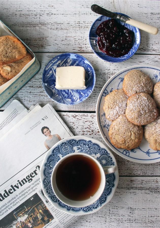 עוגיות שקדים וקוקוס