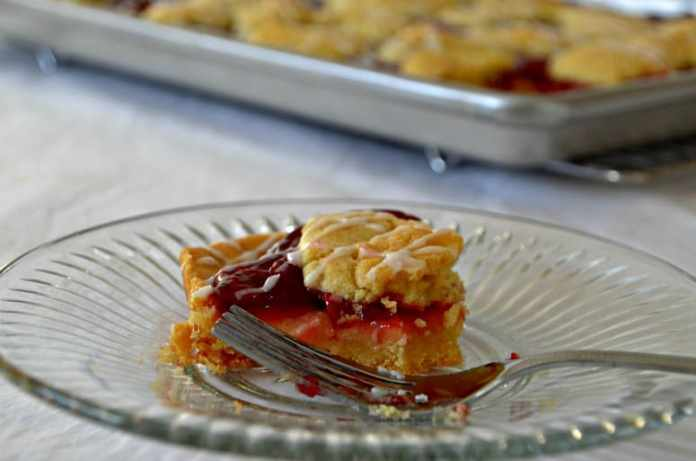 Cherry Almond Kuchen Recipe- Home in the Finger Lakes