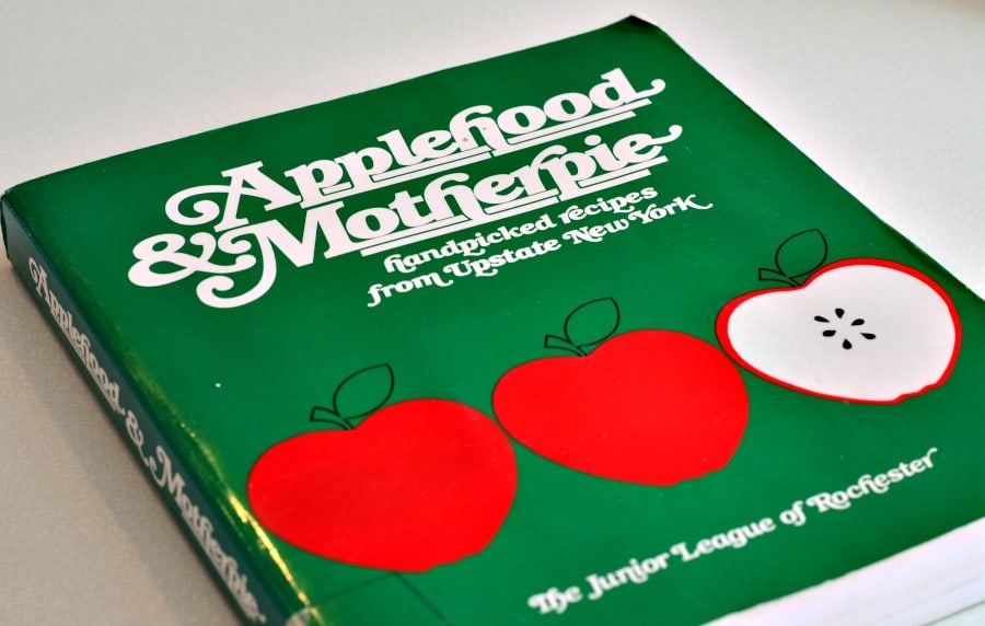 Rochester Junior League Cookbook Applehood and Motherpie