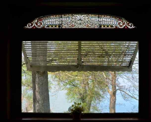 Brookside Window Overlooking Lake
