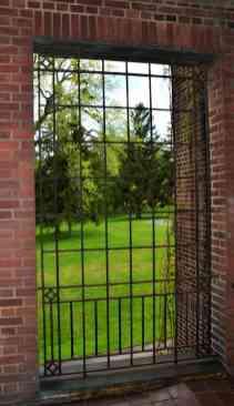 Elliot Hall enclosed porch