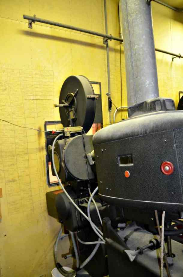 Old Projector Hadley Hall