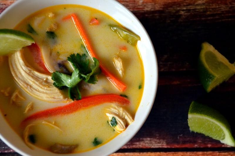Thai Chicken Vegetable Soup