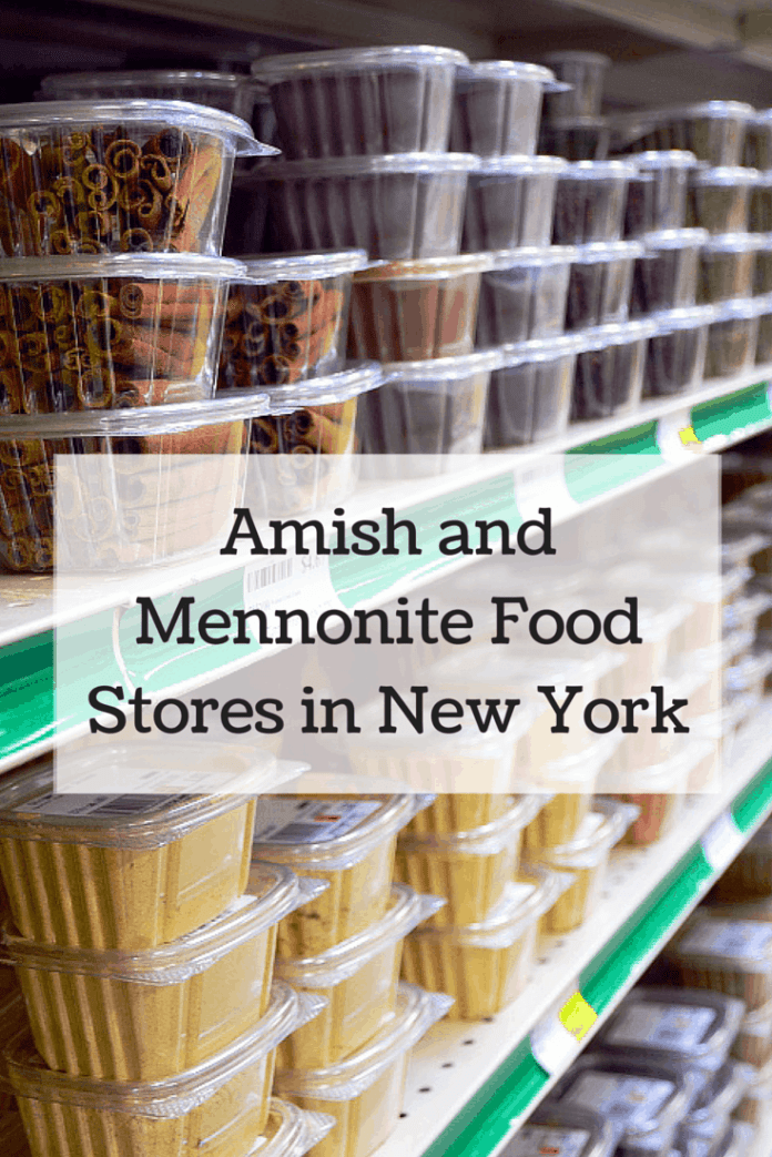 Amish and Mennonite Food Stores in New York-These family owned businesses are bringing back authentic shopping experiences to our area and are a great way to stock up on pantry essentials!