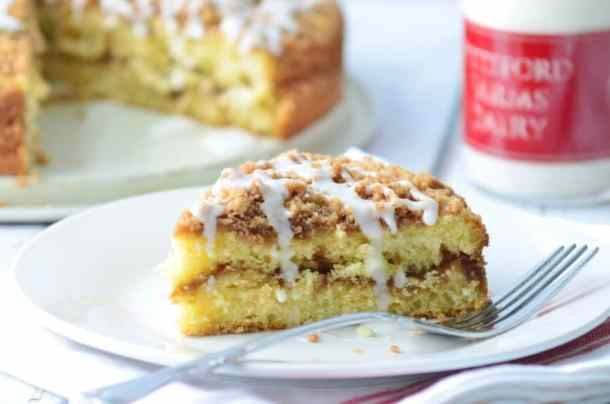 Double-Streusel Coffee Cake