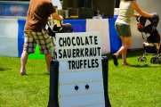Sauerkraut Chocolate Truffles at the Phelps Sauerkraut Weekend