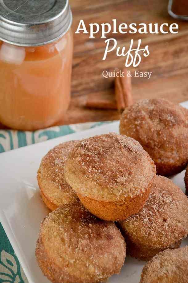 Applesauce Puffs