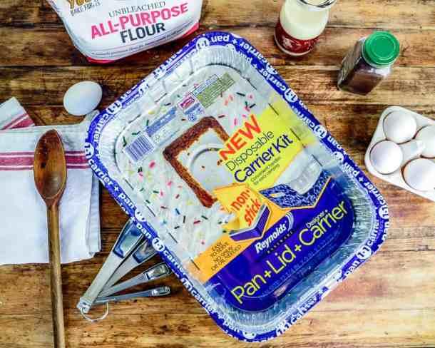 Eggnog cake-21