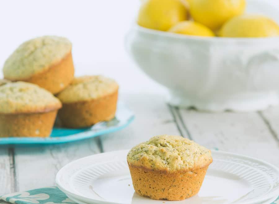Lemon Poopyseed Muffins