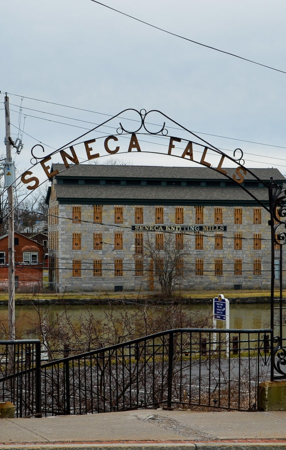 Future home of the Women's Hall of Fame, the former Seneca Knitting Mill.