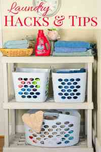 Real Life Laundry Hacks for Busy Families - Home in the