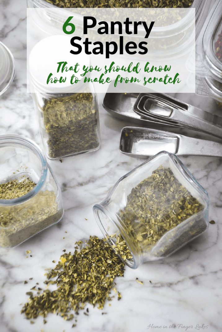 Learn my tips and tricks for making homemade seasoning mixes, plus get 6 of my favorite mix recipes all in one place.