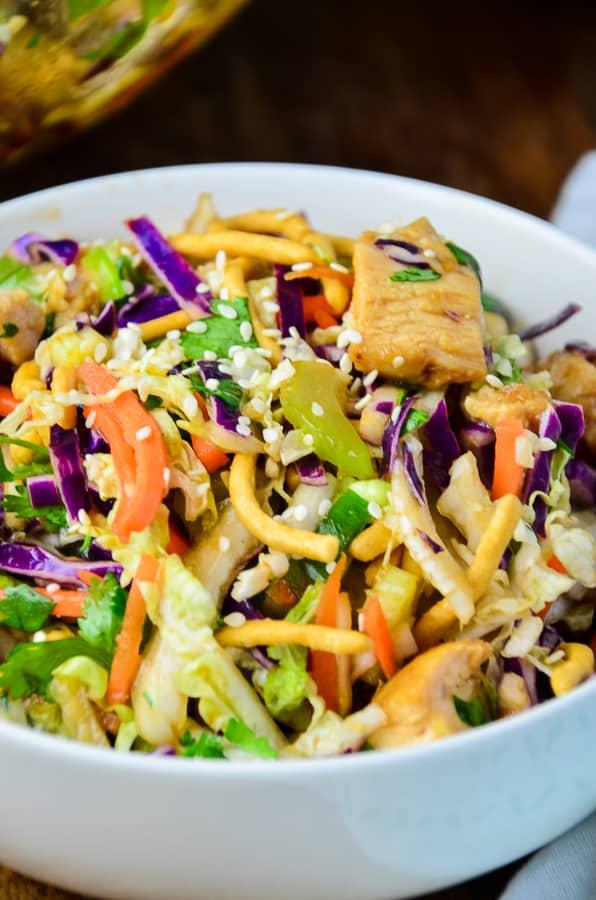 Crispy Chinese Chicken Salad