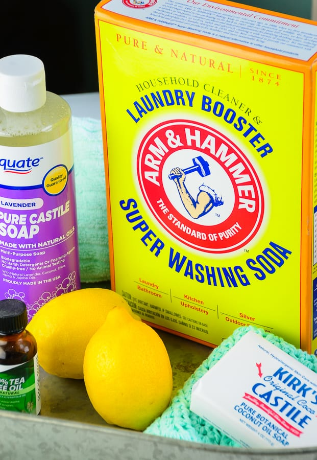 Making Homemade Natural Cleaning Products with Washing Soda is Cost effective and easy