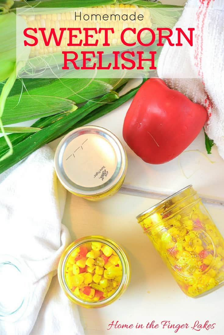 Enjoy this delicious relish on your hot dogs and hamburgers, or dress up a salad with it! Water Bath canning instructions for long term shelf storage.