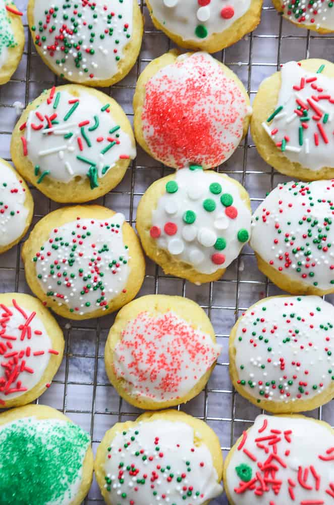 Italian Ricotta Cookies Home In The Finger Lakes