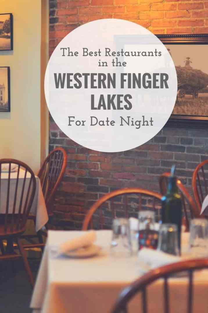 Our favorite tried and true dining spots in the Canandaigua and surrounding areas for date night.