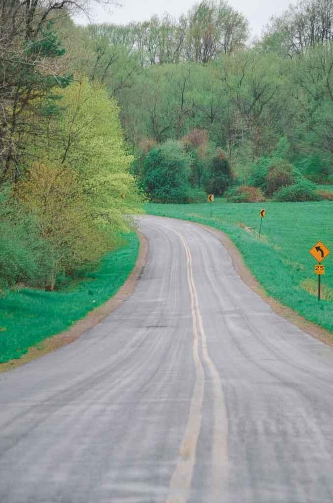 Christian Holler Road in Wayne County New York.