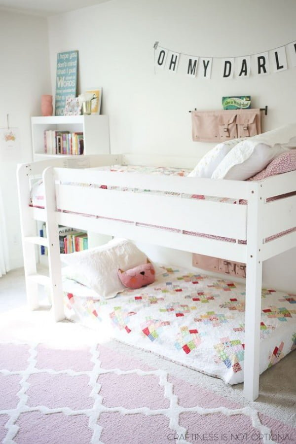 35+ Fun Kids Bedroom Ideas for Small Rooms on Girls Bedroom Ideas For Very Small Rooms  id=23783