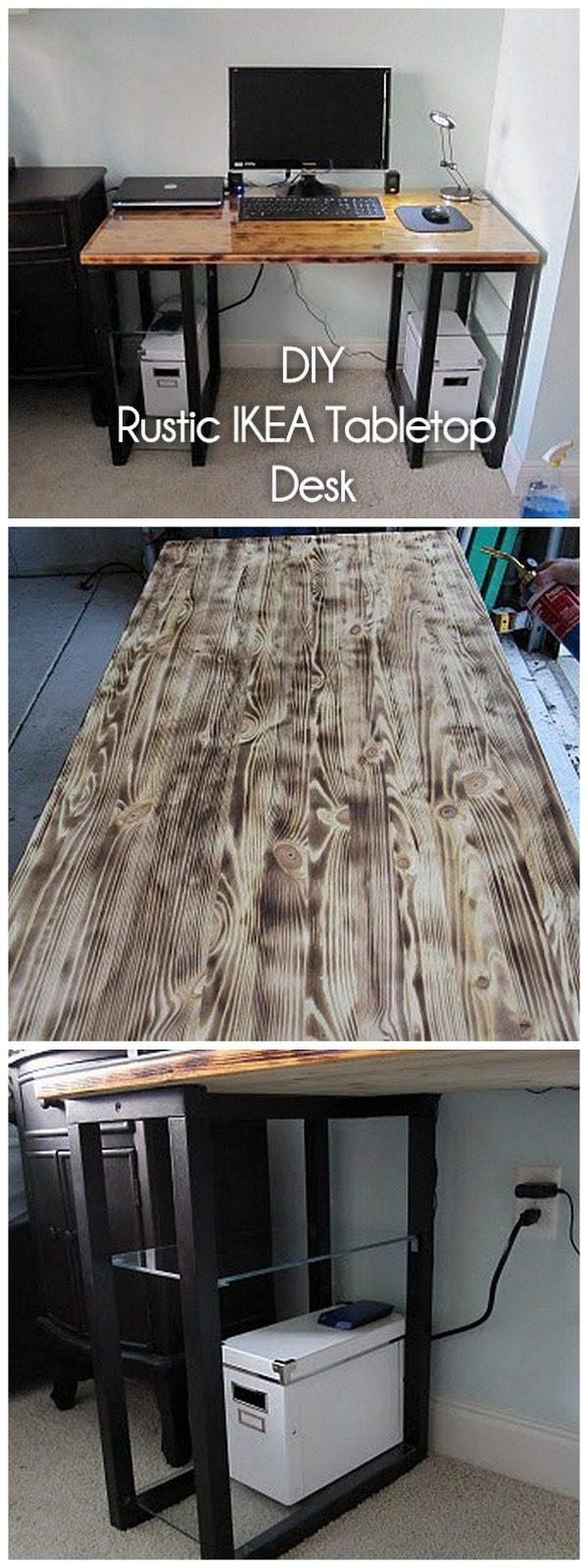 60 diy desk ideas build it quickly