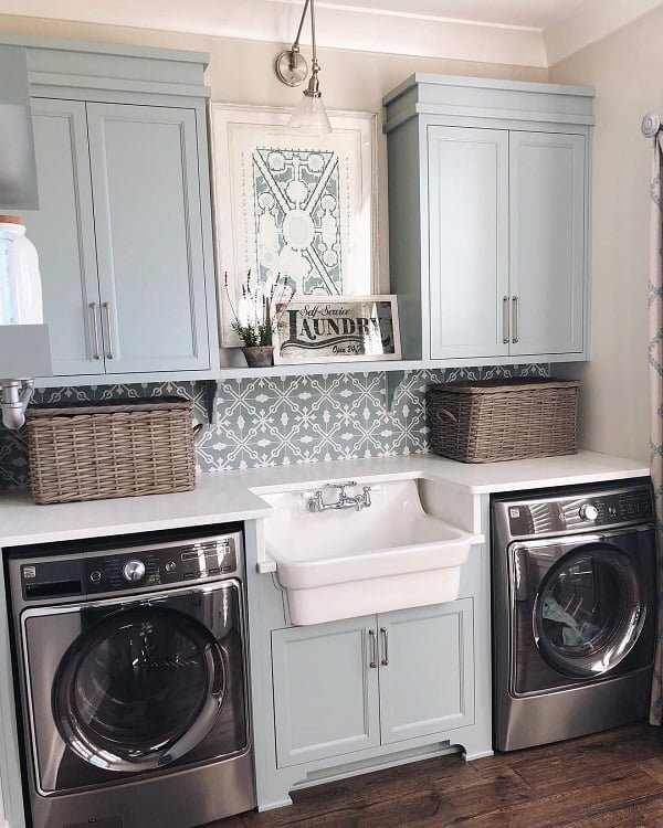 100 Fabulous Laundry Room Decor Ideas You Can Copy on Laundry Room Decor Ideas  id=99076