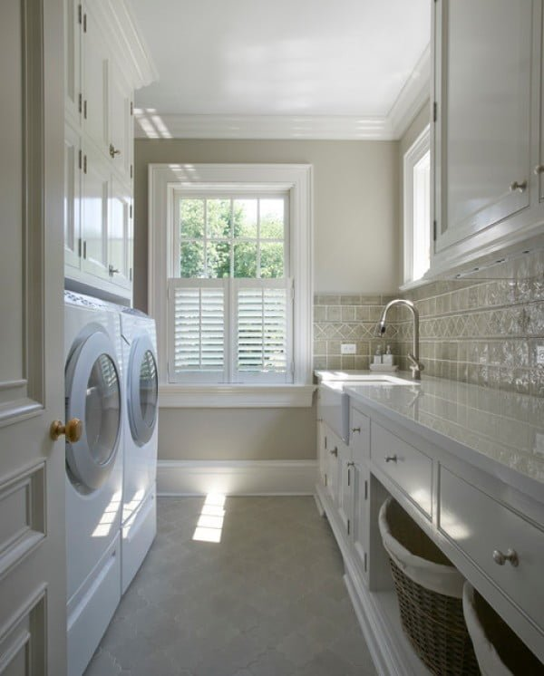 100 Fabulous Laundry Room Decor Ideas You Can Copy on Laundry Decor Ideas  id=49169