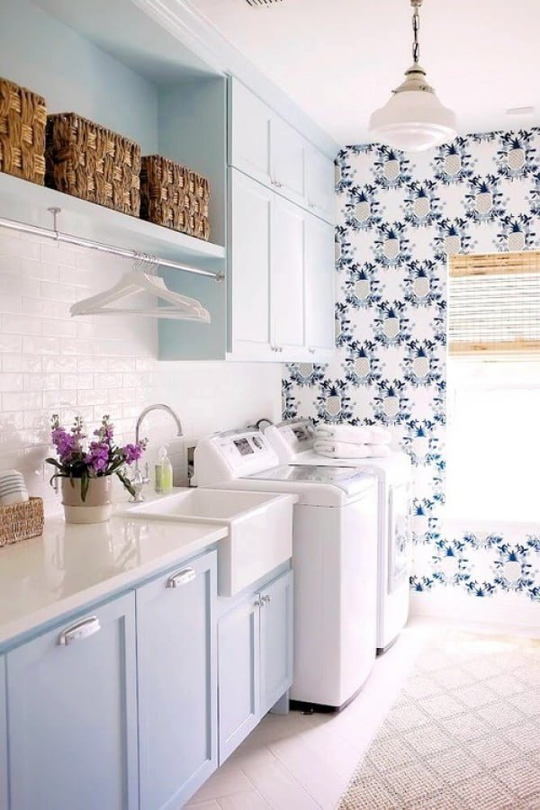 100 Fabulous Laundry Room Decor Ideas You Can Copy on Laundry Decoration  id=35150