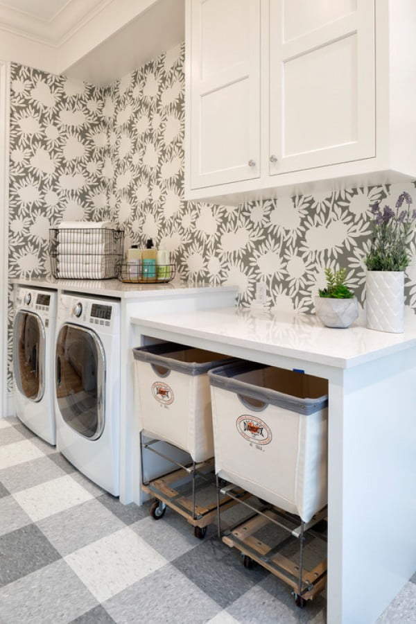 100 Fabulous Laundry Room Decor Ideas You Can Copy on Laundry Decor Ideas  id=54215