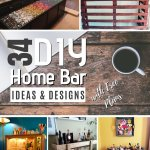 34 Diy Home Bar Ideas And Designs With Free Plans
