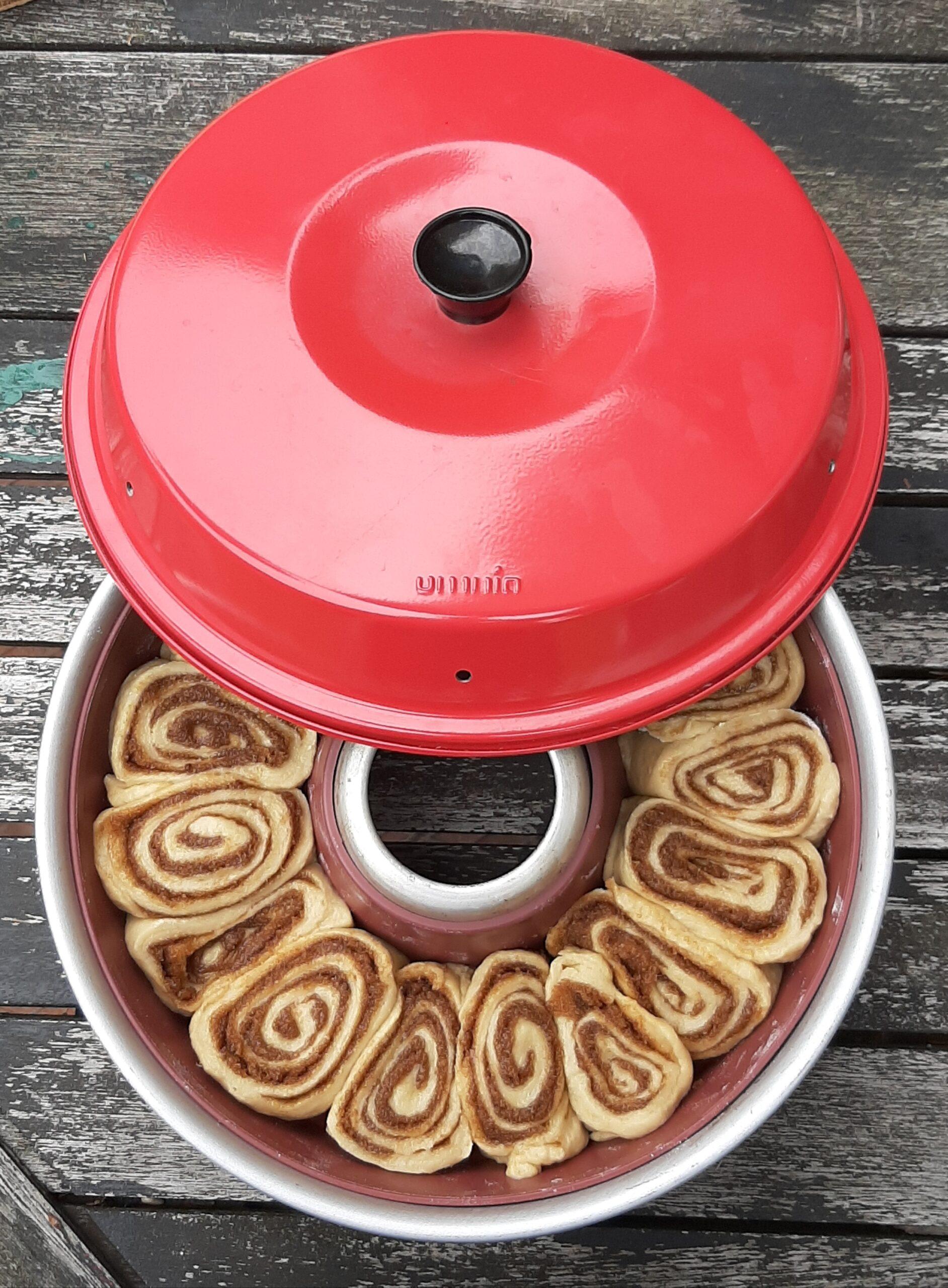 kanelsnegle kage omnia ovn Den Sultne Rejsende