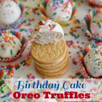 Unplugged and Birthday Cake Oreo Truffles