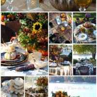 A Harvest of Fall Tablescapes and Inspiration