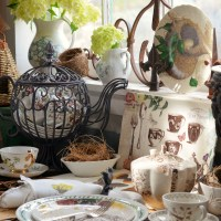 Potting Shed: Birds, Nests, Butterflies and Teacups