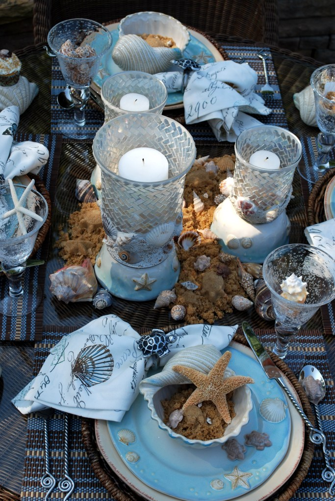 More Loggerhead Love Tablescape | homeiswheretheboatis.net