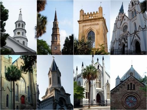 charleston churches