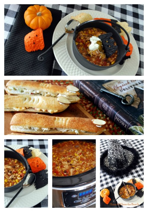 Witches' Brew Stew and Finger Sand-Witches