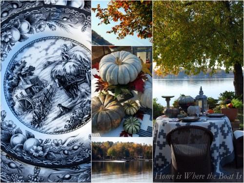 Harvest Hayride Pumpkin Table